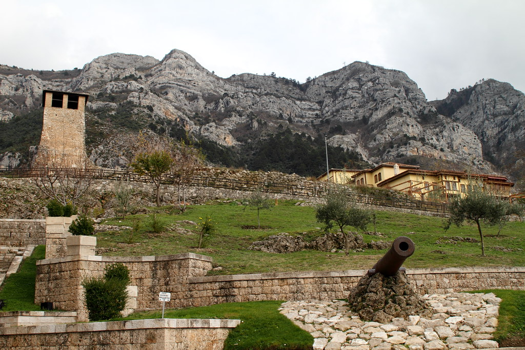 castle albania photo