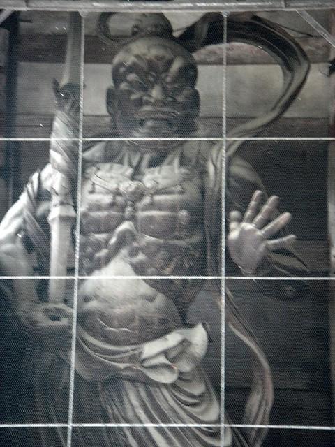 Warriors Guardians Statues at Tōdai-ji (東大寺) Todaiji (Eastern Great Temple)
