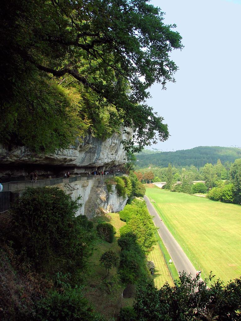 la Roque Saint Christophe, Dordogne