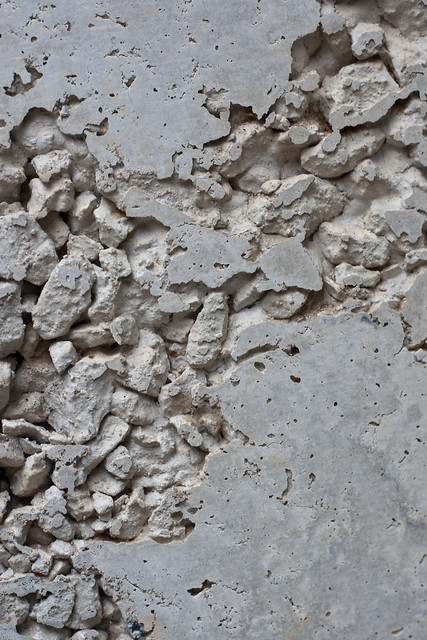 texture deteriorating concrete with gravel all textures