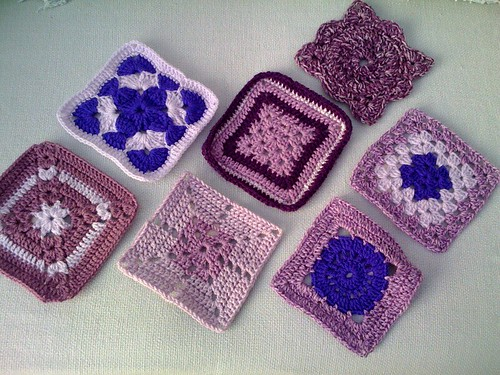 Thank you Molly! Squares for Blankets for the Elderly. So gorgeous!