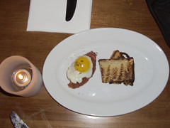 Lazy Ox Canteen: Beef Tartare with Quail Egg