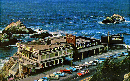 Cliff House San Francisco in the 1960's