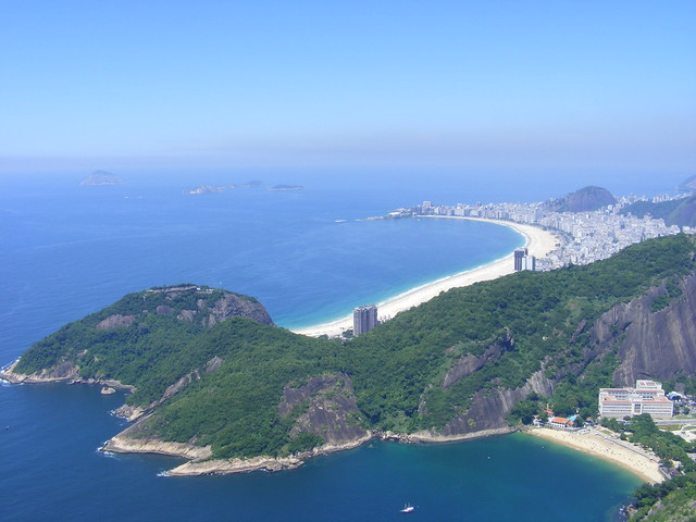 copakabana beach brazil