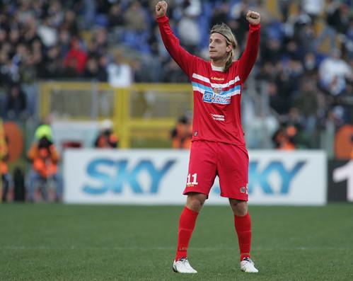Lazio-Catania, l'unico successo in A nel 2010$