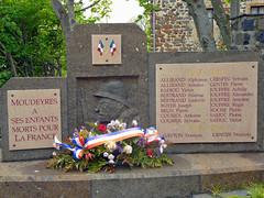 B33 Moudeyres War Memorial