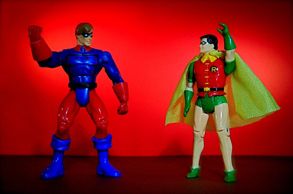Bucky vs. Robin (47/365)