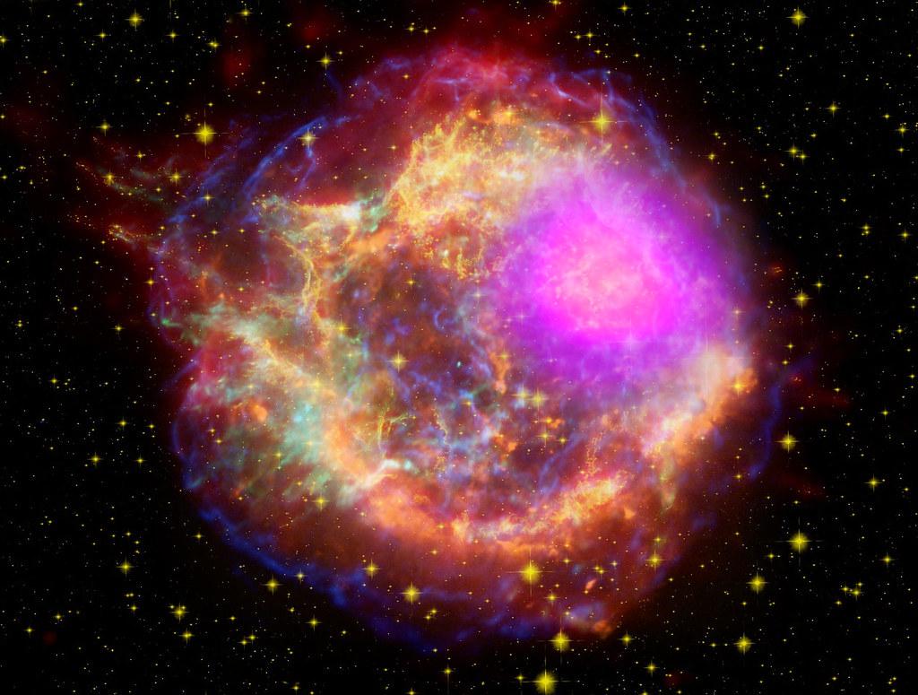 Cassiopeia A supernova