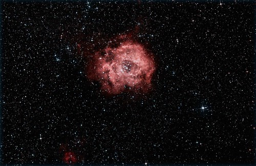 Rosette Nebula in Monoceros NGC2237 by turner_andi