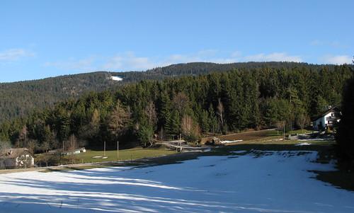 winter landscape pohorje