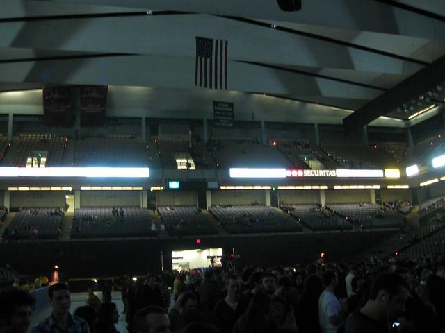 Inside 1st Mariner Arena Baltimore