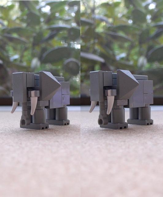 3D Lego: Elephant