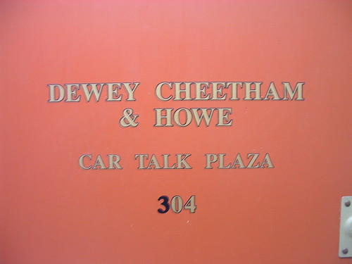 Dewey Cheetham & Howe, CarTalk Plaza