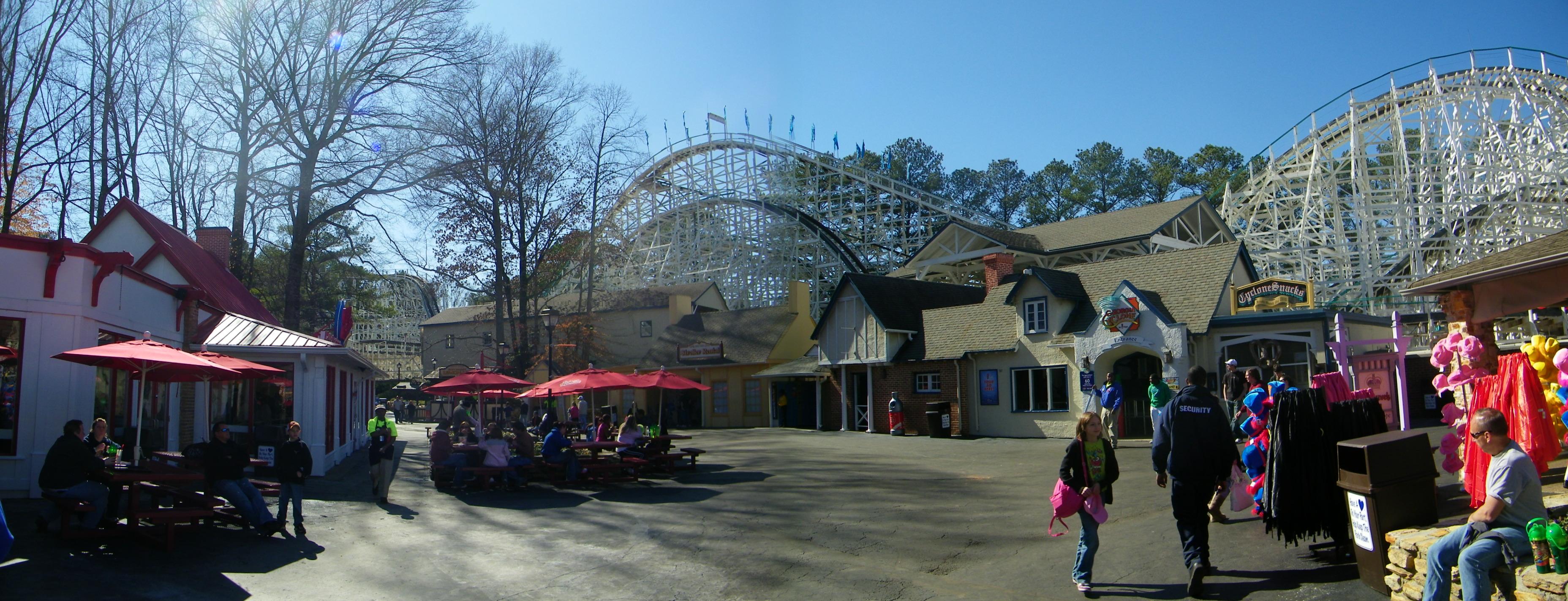 Six Flags over Georgia 2010