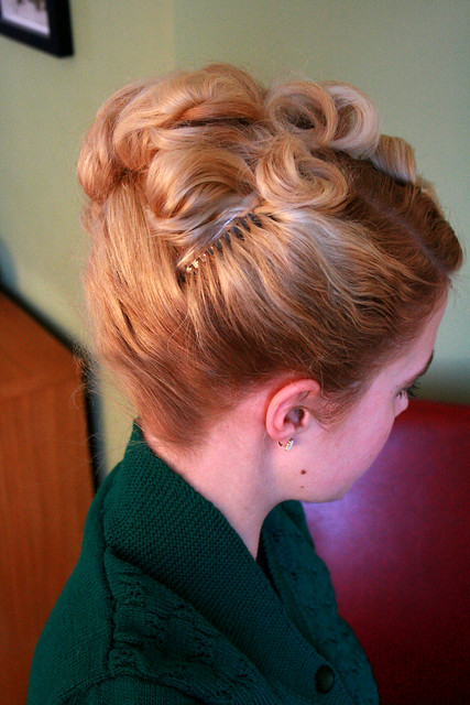 The 40 S Updo Flickr Photo Sharing