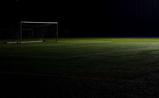 Empty Soccer Field Night Empty Soccer Field 2 Flickr