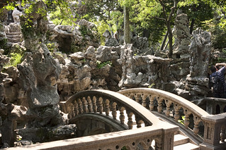 Entrance to the Grotto of Taihu Rock by IceNineJon