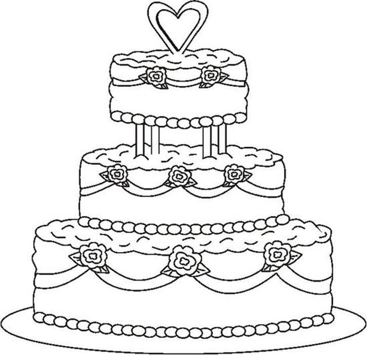 cake food coloring pages - photo#40