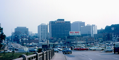 Arlington - Rosslyn from Key Bridge (1965)