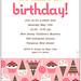 Sweets Girl Birthday Invite by ecdesignz