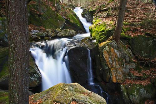 waterfall spring stream runoff goldminebrook