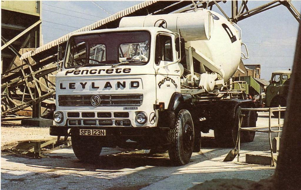 leyland reiver concrete mixer publicity shot taken from. Black Bedroom Furniture Sets. Home Design Ideas