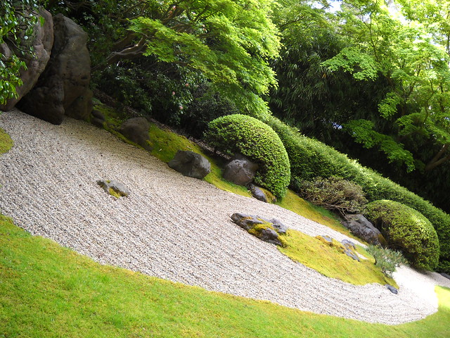 japanese dry garden flickr photo sharing. Black Bedroom Furniture Sets. Home Design Ideas