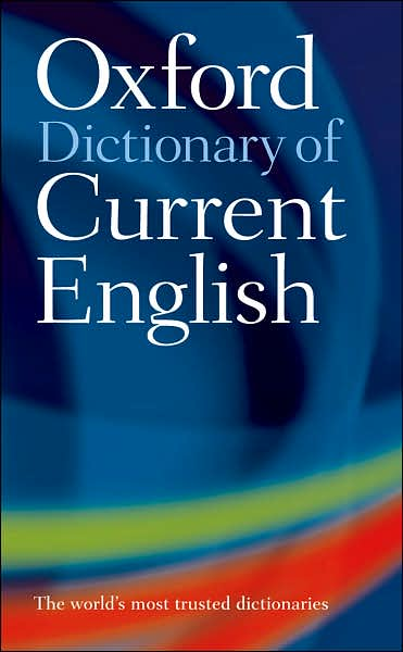 dictionary of english: