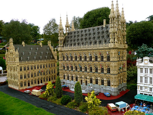 the town hall at Leuven, Belgium