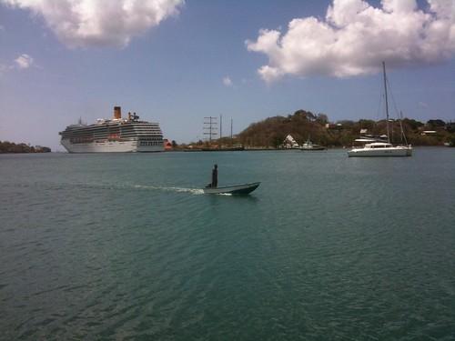 St. Lucia, Caribbean cruise