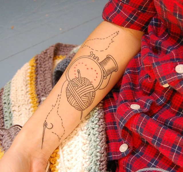misc - knitting tat