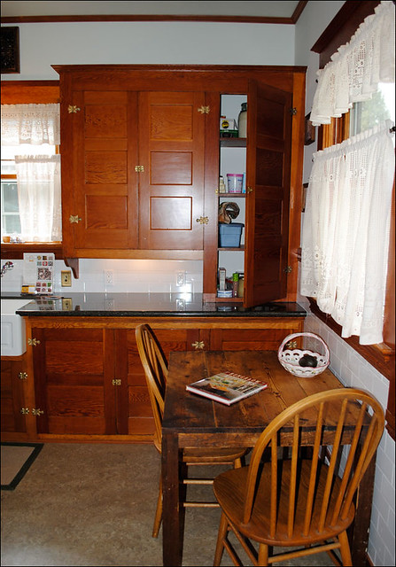 C 1915 Kitchen With Douglas Fir Cabinets Flickr Photo