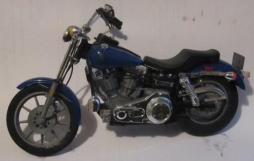 Harley Davidson Motorcycle left