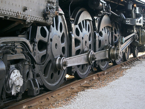 railroad train texas wheels railway unionpacific locomotive northern fortworth steamlocomotive 484 drivingrods