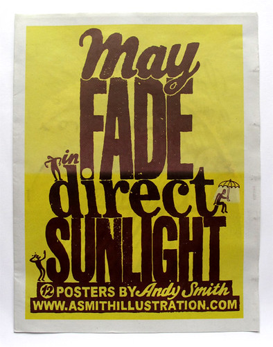 Newspaper club- May fade in direct sunlight