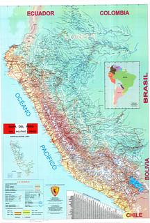 Peru road map - mapa vial del Perú (02)