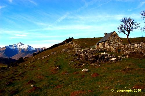 Cabane et Montaigu