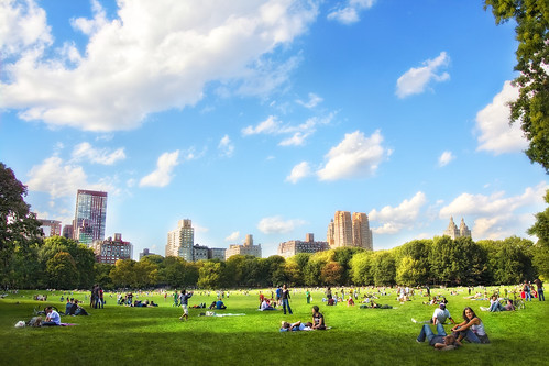 'Easy Breezy'  Sheep's Meadow, Central Park, New York City