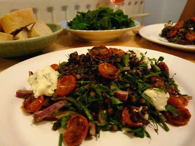 "Puy Lentils with tomatoes and Gorgonzola | Shoud be ""Ca… 