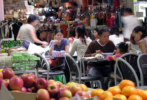 Market dining
