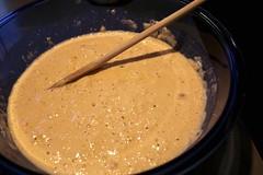 produce(0.0), gravy(1.0), batter(1.0), food(1.0), dish(1.0), cuisine(1.0),