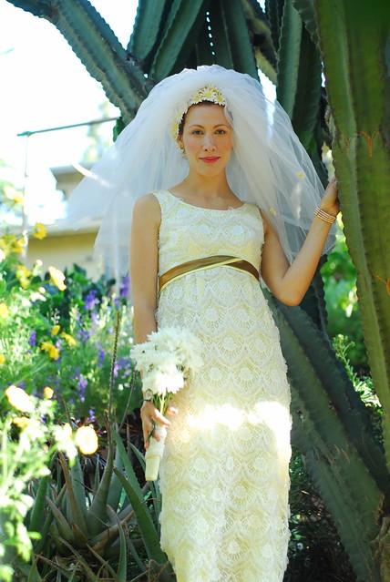 Sunflower wedding dress flickr photo sharing for Sunflower dresses for wedding