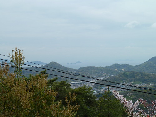 trees sea water japan islands hills views onomichi setoinlandsea honshu