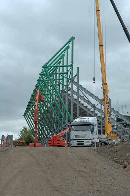 East Stand Construction 034