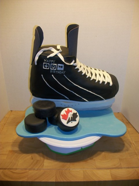 Hockey Cakes - a gallery on Flickr