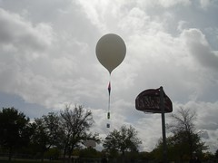 Mr. Crosby's weather balloon