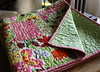 finished toddler quilt by Midwest Family Life
