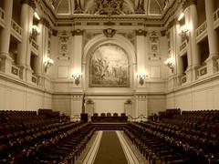salon de Honor del Congreso Nacional en Santiago