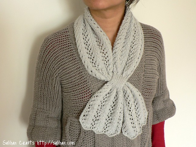 Lace Keyhole Scarf Flickr - Photo Sharing!