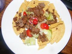 meal, breakfast, carnitas, meat, food, dish, cuisine,